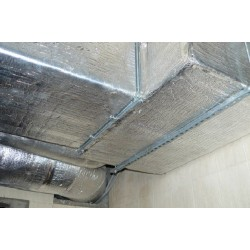 Reflective Duct Insulation HVAC Thermal Sound Barrier