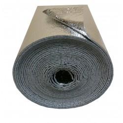 4m2 (8m x 50cm x 2 mm) - Dubbele Reflecterende Aluminium Thermische Geluid Damp Folie Isolatie