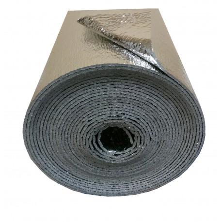 8m² (16m x 50cm x 2mm) - Double Aluminium Reflective Thermal Sound Vapor Insulation
