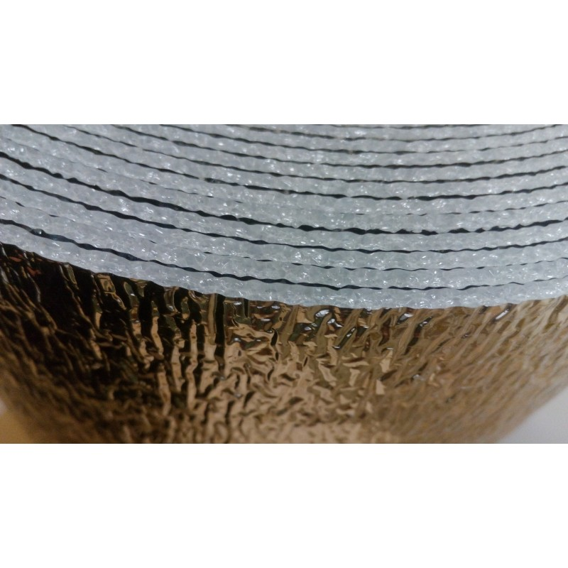 30m² Double Foil Reflective Insulation Floor Wall Roof