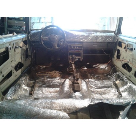 Reflective Car Solid Sound Deadening Thermal Insulation