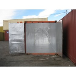 Reflecterende Container Opslag Unit Insualtion Thermische Geluid Damp